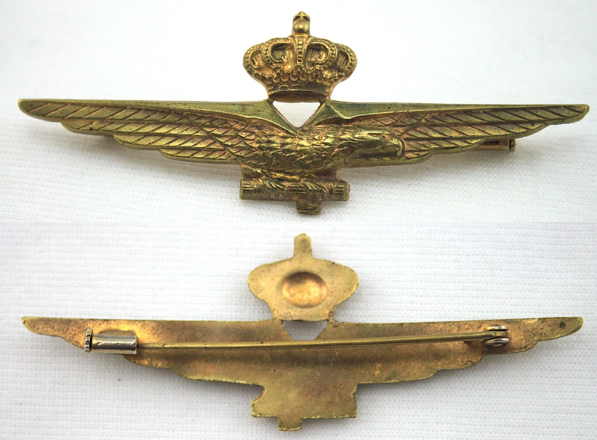 二戰義大利飛行員資格章