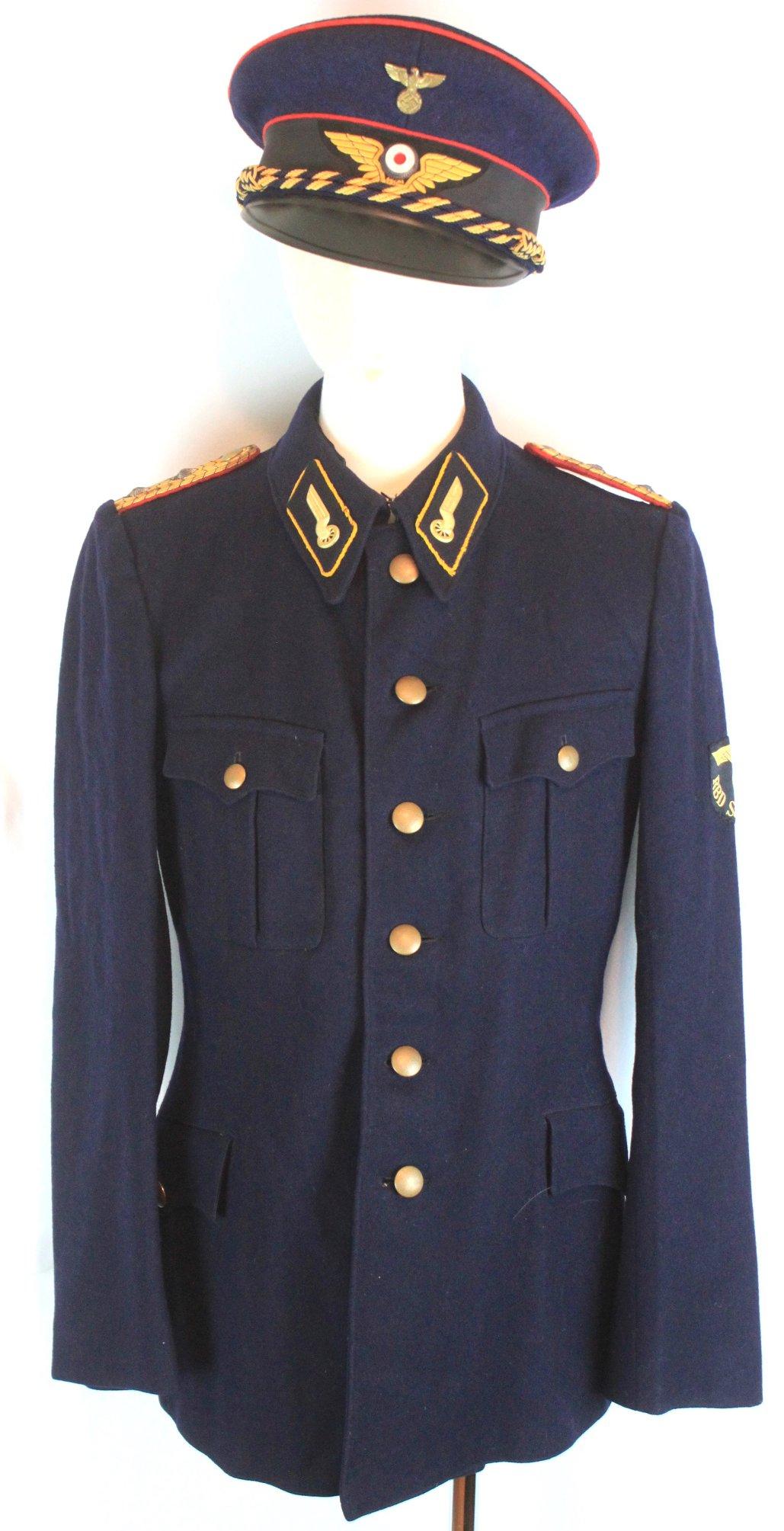 [已售出 SOLD] 二戰德國國鐵信號官制服組