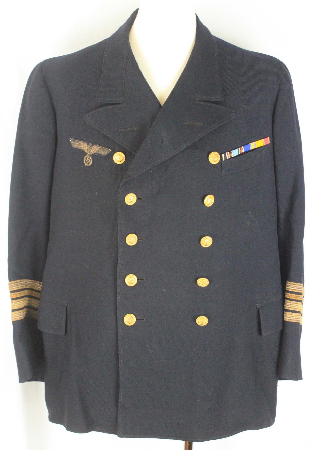二戰德國海軍中校上衣