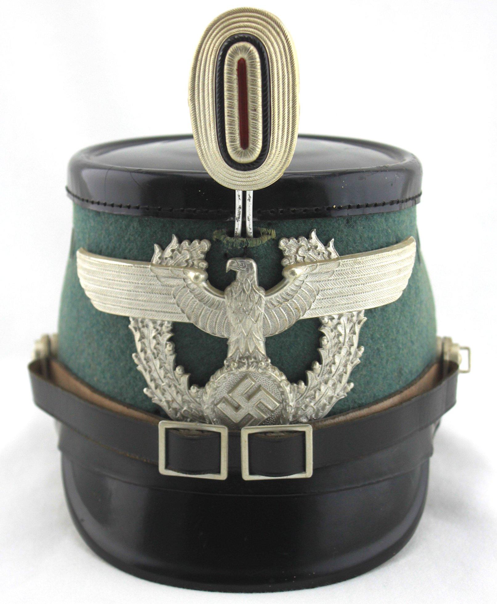 納粹時期德國警察NCO階級勤務桶帽