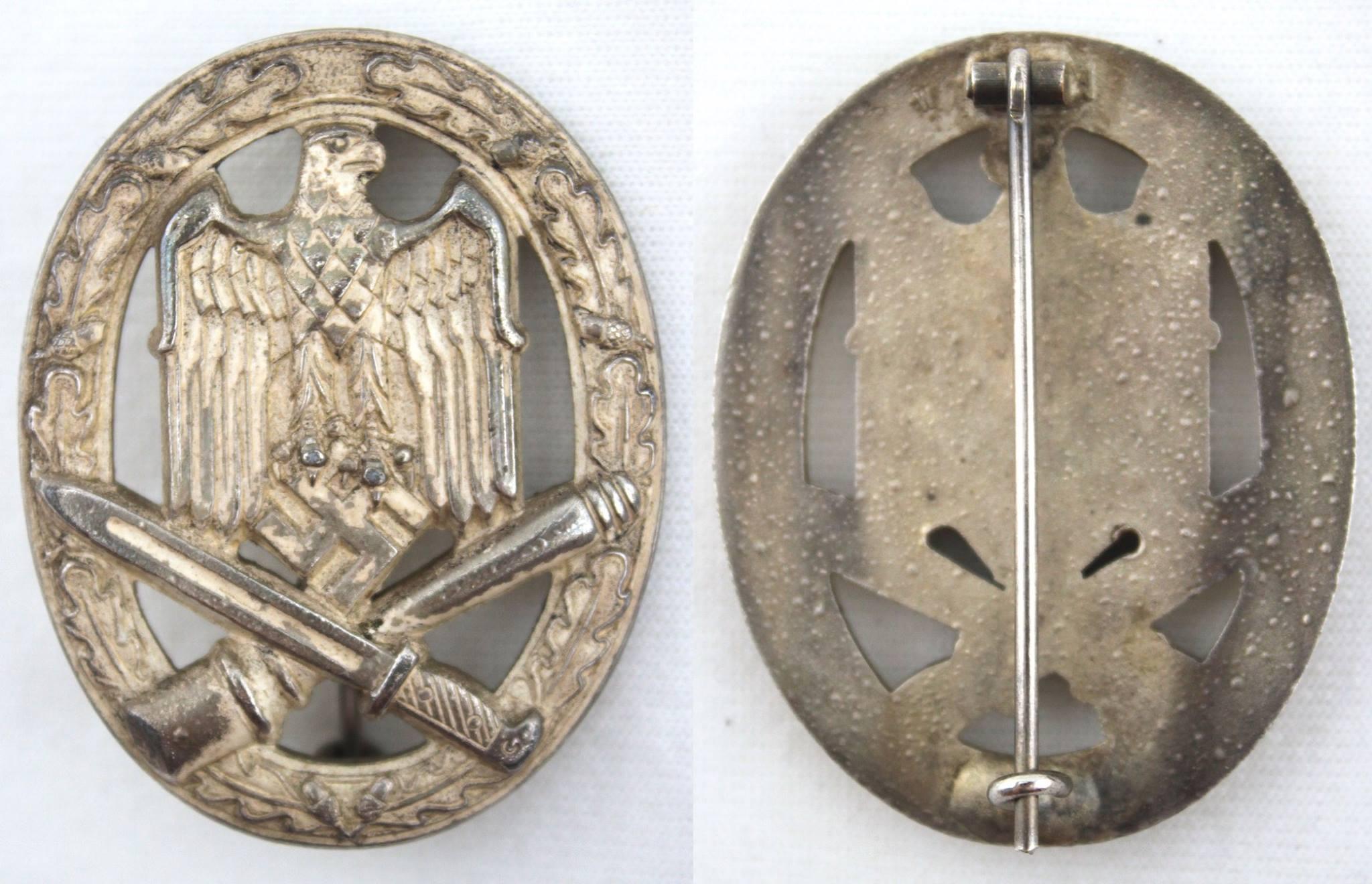 二戰德軍普通突擊章,Wurster 打標作品