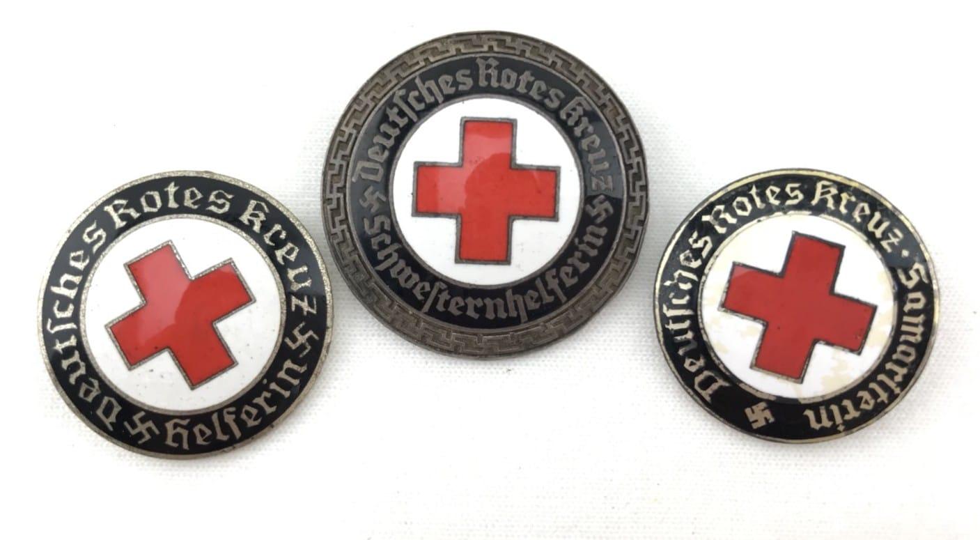 二戰德國DRK(德意志紅十字會)女性執勤章