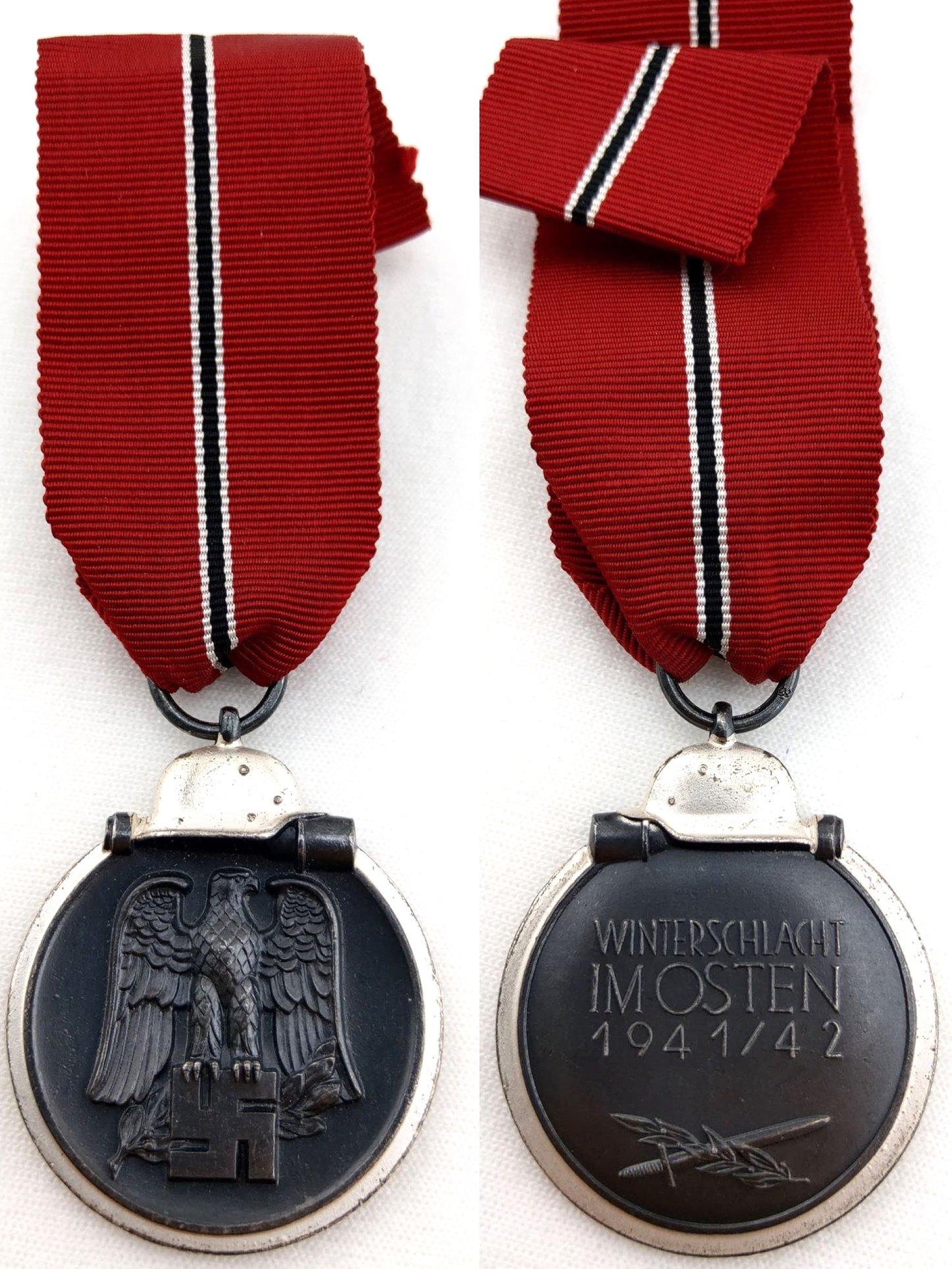 [已售出 SOLD] 二戰德國 3號打標Deumer廠 東線戰役獎章