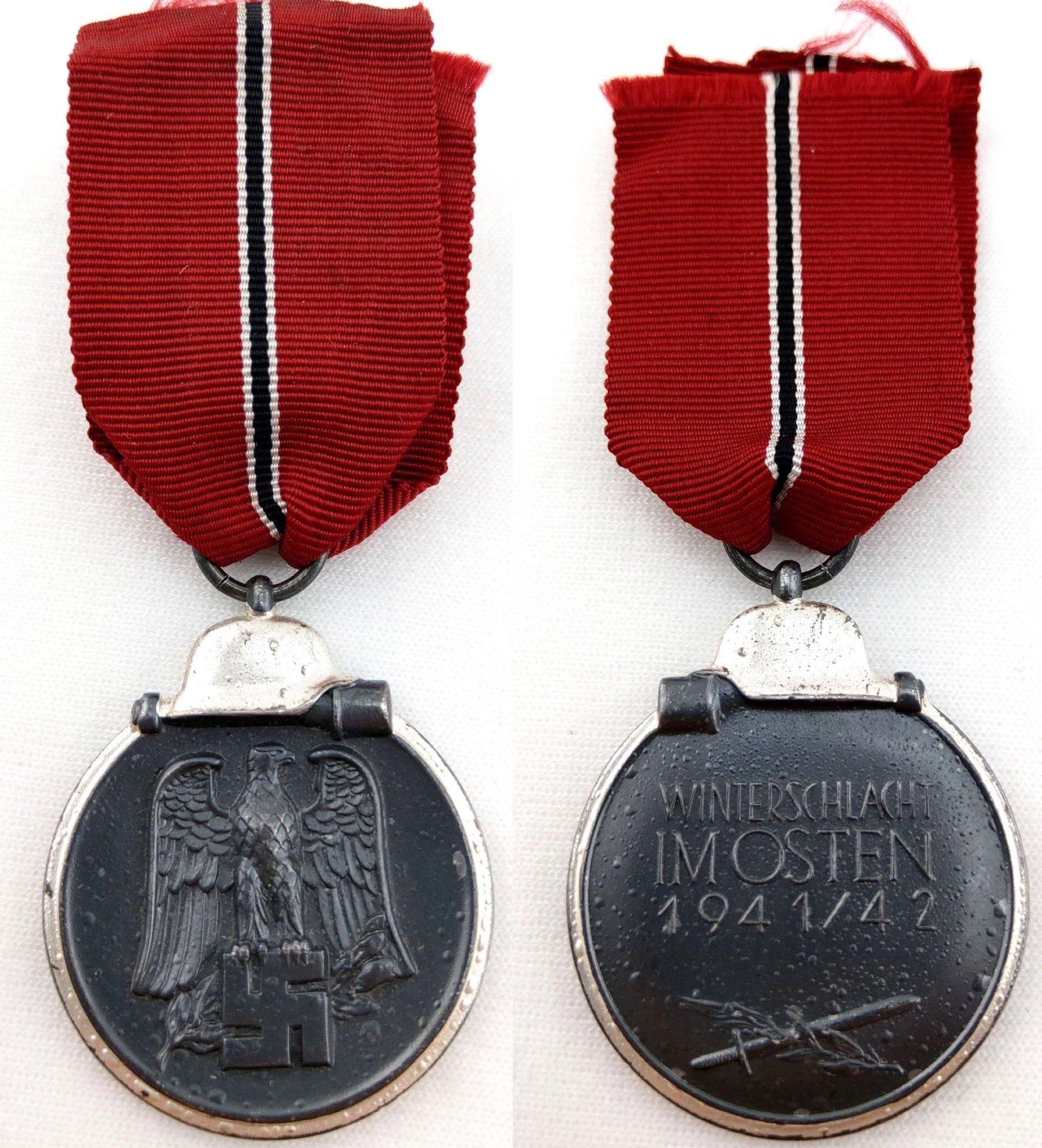 [已售出 SOLD] 二戰德國 107號打標Carl Wild廠 東線戰役獎章
