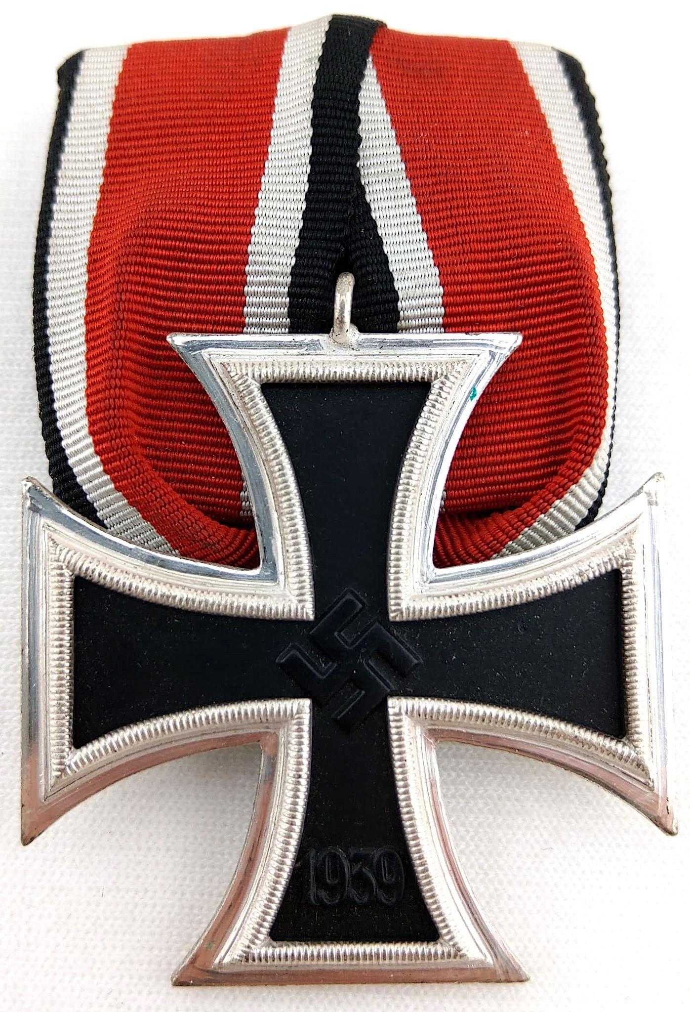 二戰德國 罕見二級鐵十字,辛克版本 單聯勳排