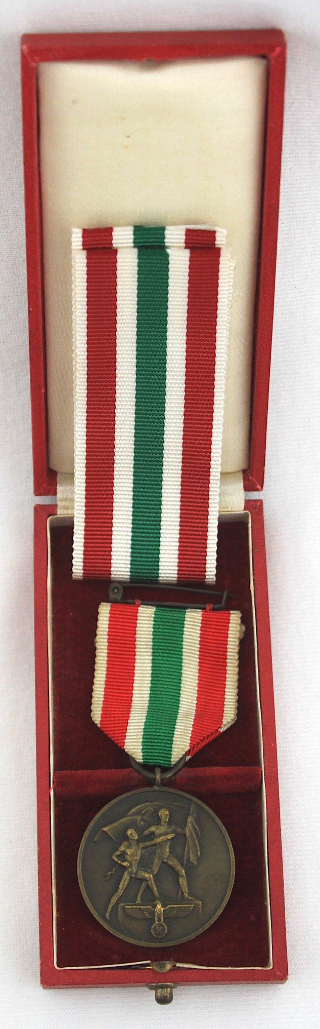 二戰德軍,盒裝梅梅爾回歸獎章!