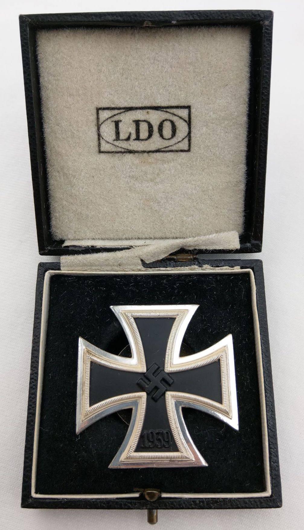 一級鐵十字 (罕見旋盤式)! L55打標Rudolf Wächtler & Lange 廠製品