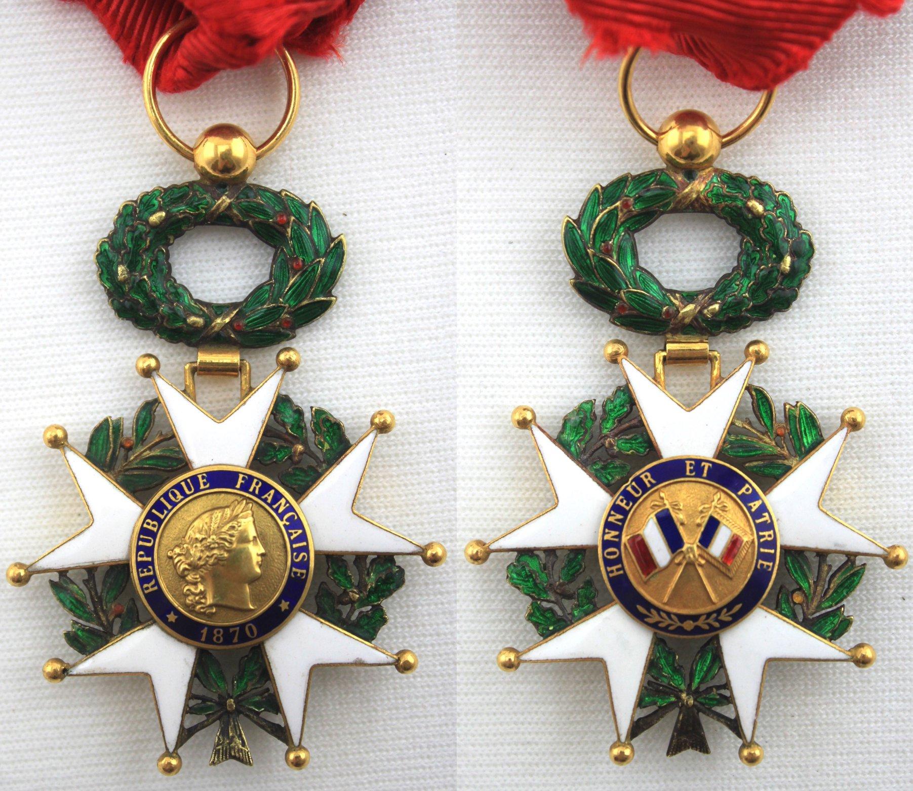 軍官級(Officer)法國榮譽軍團獎章