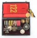 [已售出 SOLD] 一戰德國勳章套組 符騰堡王國第122步兵團 (Württemberg)