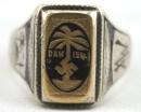 [已售出 SOLD] 北非軍團戒指 - DAK Ring, 銀標900