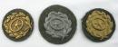 [已售出 SOLD]二戰德國陸軍駕駛章。銅,銀,金三枚一套。