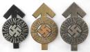 [已售出 SOLD] 希特勒青年軍傑出獎章,鐵,銅,銀一套