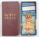 盒裝 三級皇冠寶劍巴伐利亞戰功十字獎章