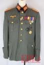 [已售出 SOLD] 二戰德國陸軍少將毛料四口袋制服套組