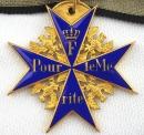 [已售出 SOLD] 普魯士藍馬克十字(Pour le Merite),c.a. 1930's