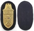 [SOLD 已售出] 海軍金色那維克戰役盾