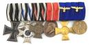 [已售出 SOLD] 一/二戰德軍6連勳排,巴伐利亞屬