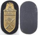 [已售出 SOLD] 二戰德國海軍金色那維克戰役盾