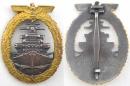 [已售出 SOLD] 二戰德國海軍 公海艦章! SCHWERIN廠製品