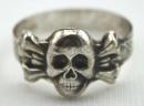 [已售出 SOLD] 二戰德國骷髏造型戒指,非官方的私購品