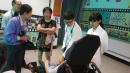 106-心蓮病房醫護人員,關懷住民身體健康。