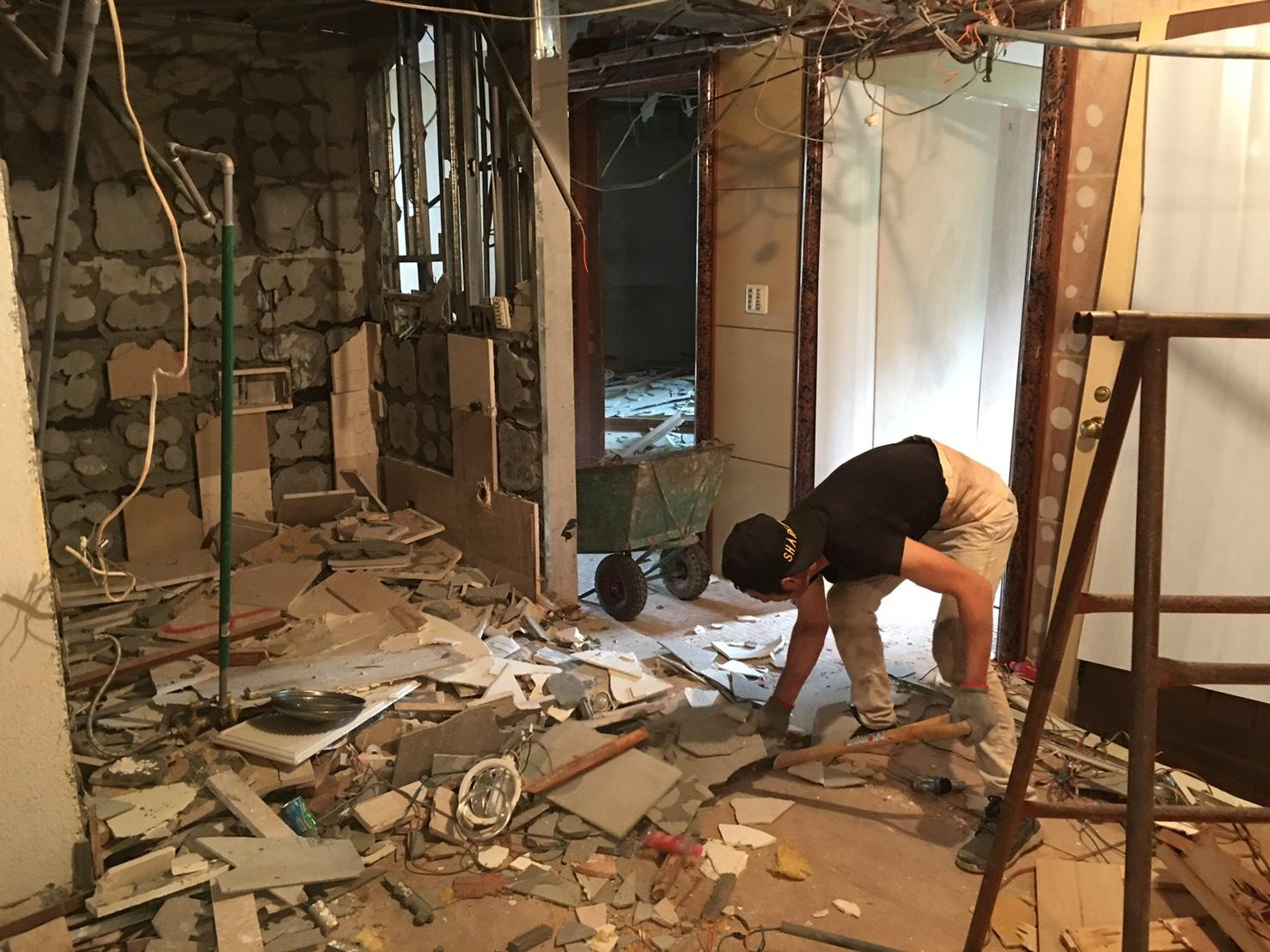 新北室內拆除