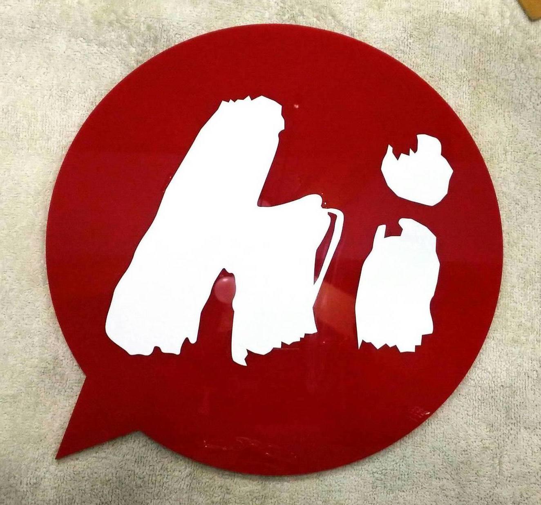 壓克力logo標示
