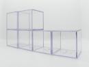 棒球 透明球框,精緻收納盒