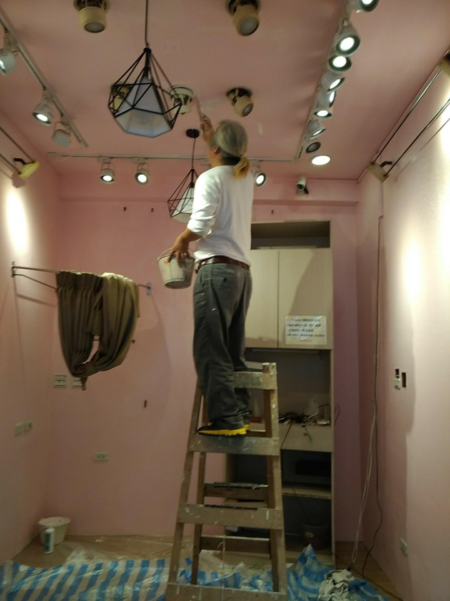 台北市店面油漆室內粉刷 (6)