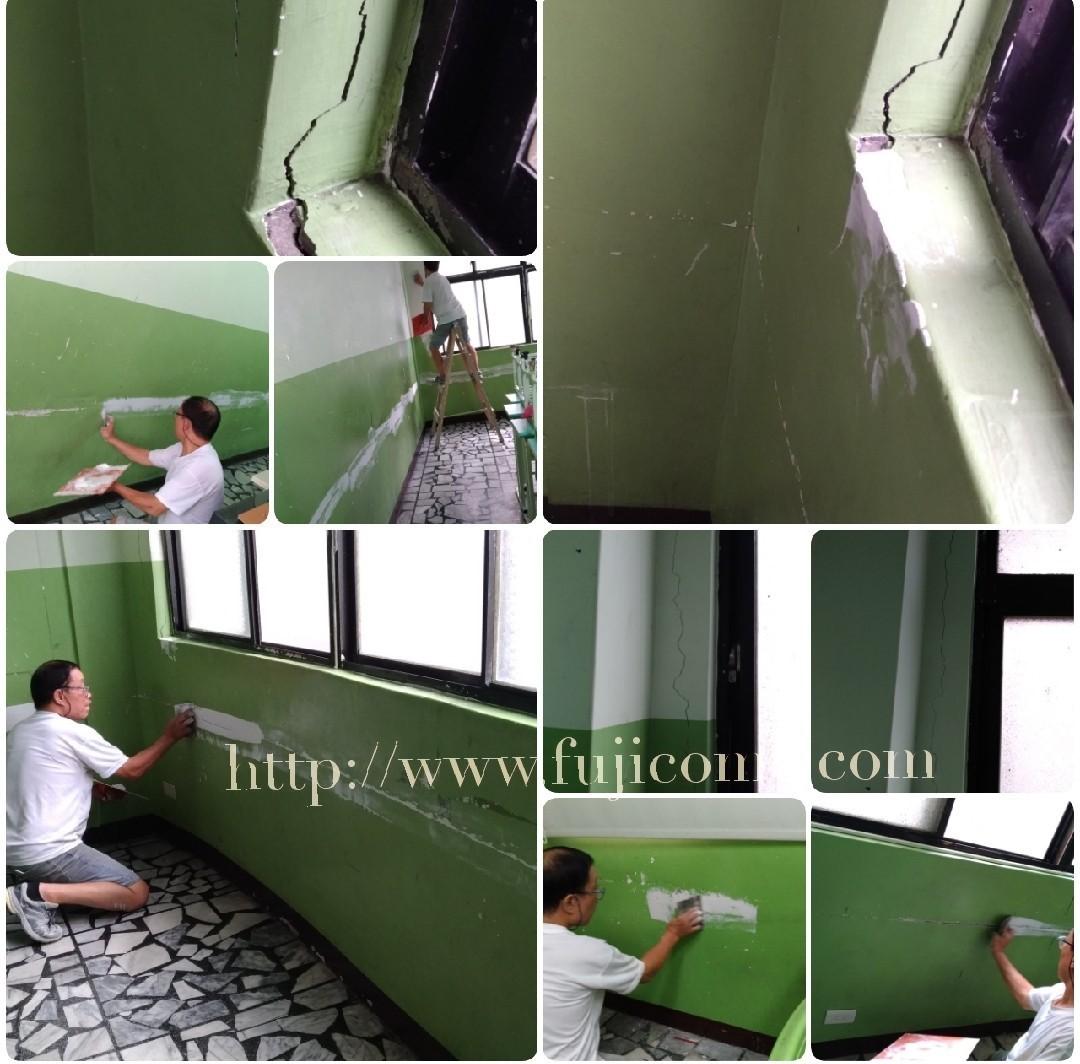 台北補習班牆面修補油漆粉刷 (17)