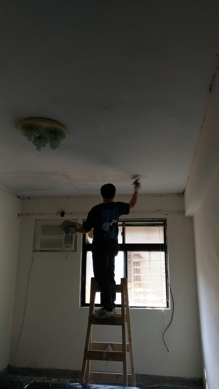 新北市三民路牆面,天花板修補油漆室內粉刷 (51)