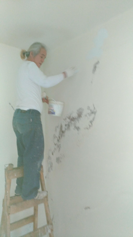 新北市住家牆面壁癌處處理油漆粉刷 (22)