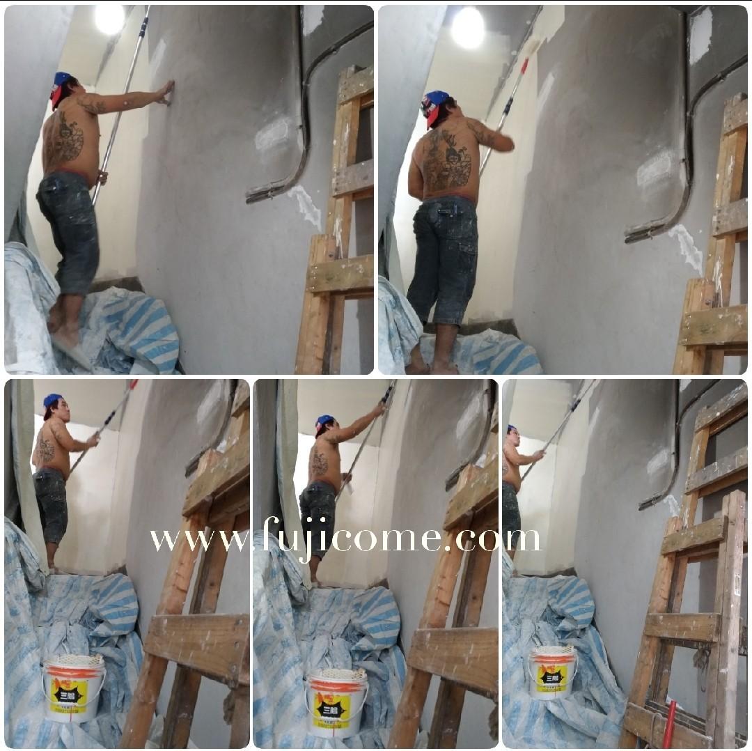 新北市樓梯間室內油漆粉刷 (3)