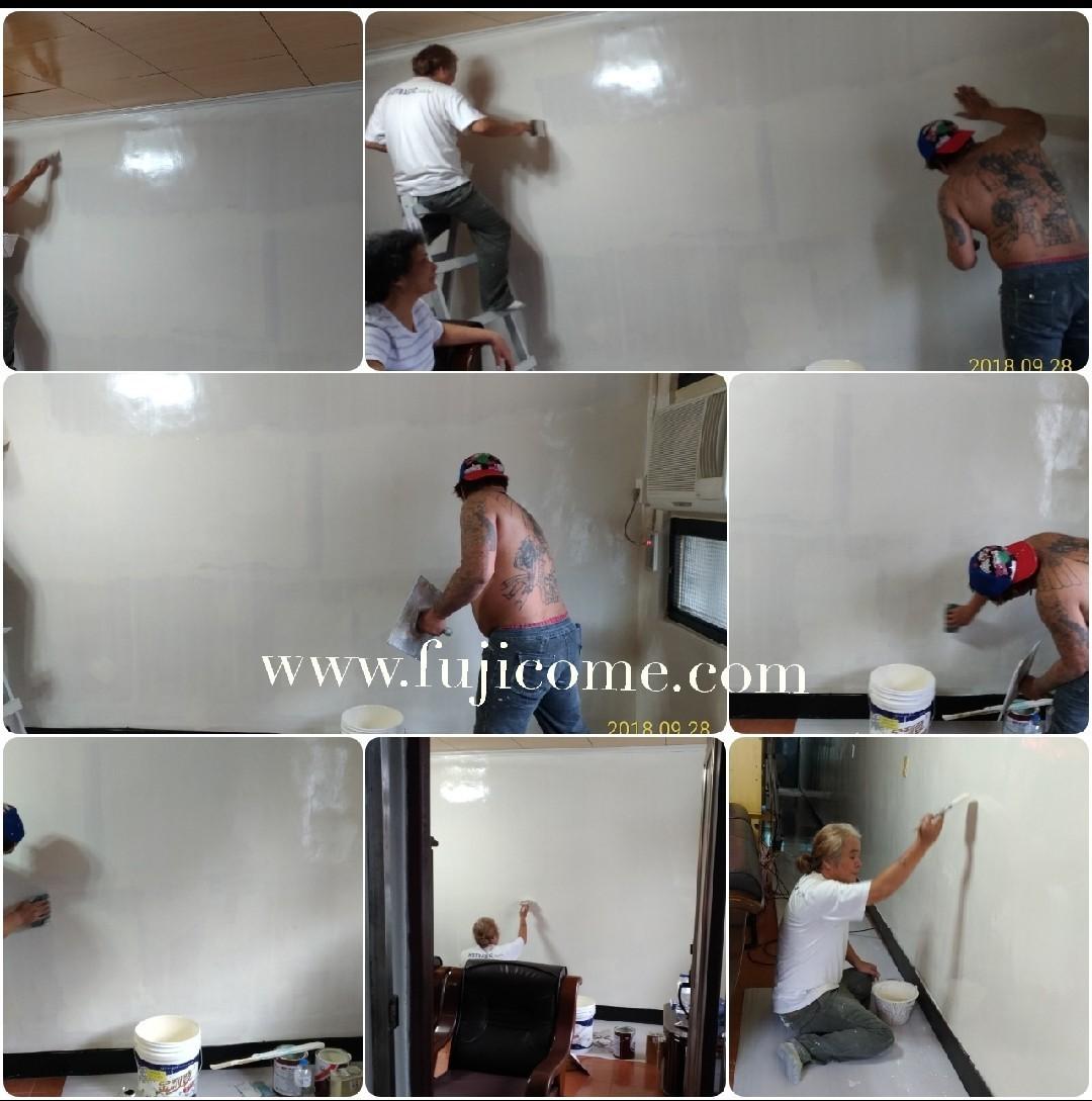 新北市樓梯間室內油漆粉刷 (4)
