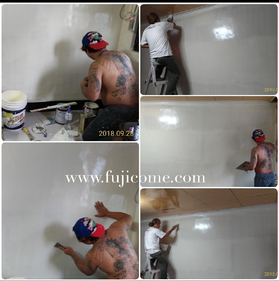 新北市樓梯間室內油漆粉刷 (5)