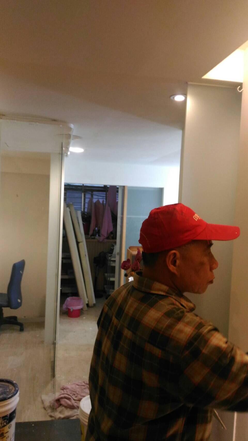 台北市住家室內牆面油漆粉刷
