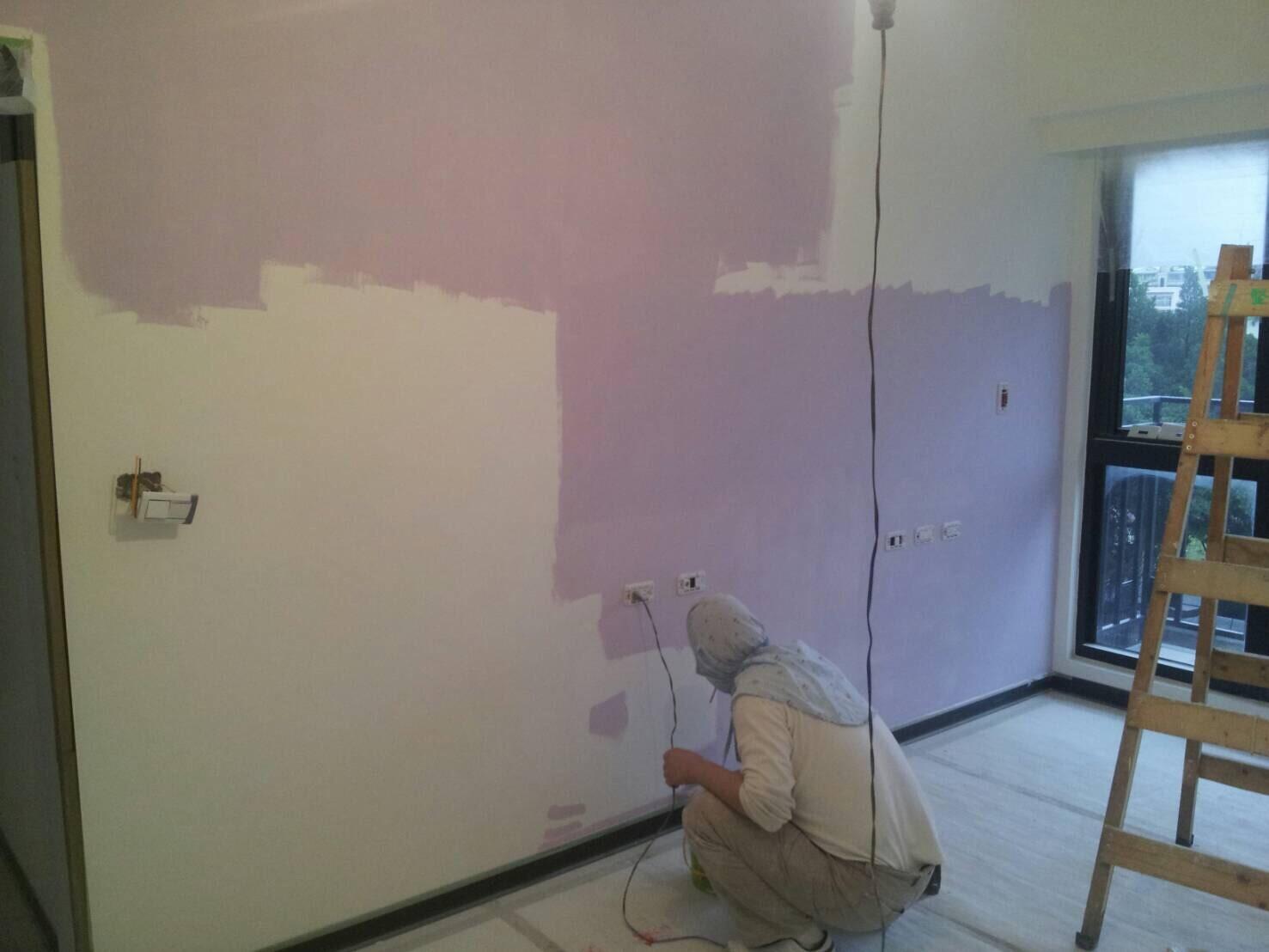 新北市住家油漆粉刷完成