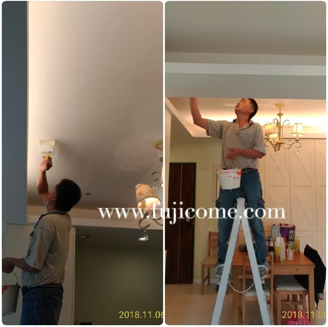 板橋全室重新粉刷,油漆剝落修復,壁癌修復 (3)