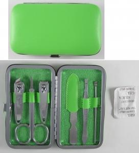 馬卡龍系列按扣式6件修容組(綠) Six pieces of group(green)