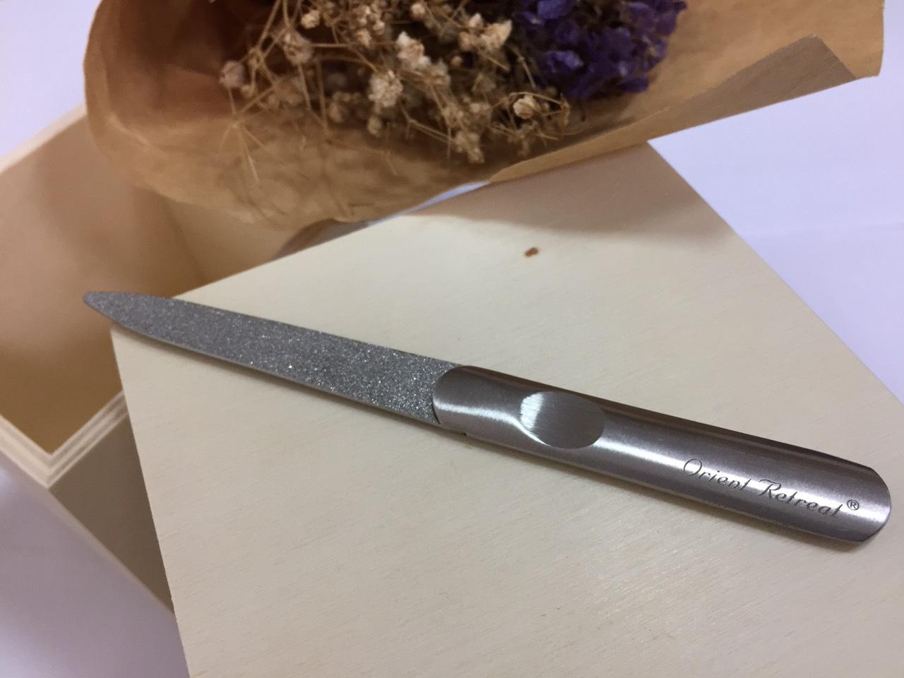 不銹鋼指甲銼刀