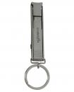 不鏽鋼收納式指甲剪(附吊圈)
