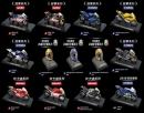 7-11 世界摩托車錦標賽 瓦倫蒂諾.羅西 經典重機+安全帽模型 13款+賽道展示座