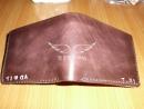 手縫皮革短夾 建議售價:NT$1,600