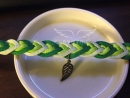 【漸層浪漫】手編皮手環─(韓國絨) 建議售價:280元