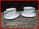 【美好時光。瓷尚生活】  咖啡杯碟四件組  NT:120元