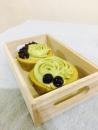 抹茶乳酪杯子蛋糕(珍珠內餡)(NT$80/2入)