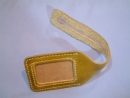 手工真皮行李名牌 〈悠遊票卡夾〉 建議售價:NT$350