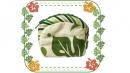 綠-夏威夷風俏麗零錢包