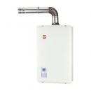 櫻花強制排氣16公升熱水器SH1633