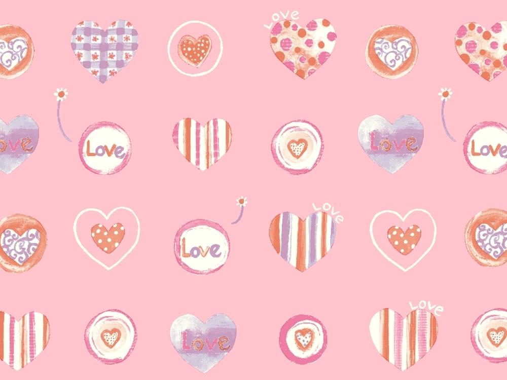紅粉餅乾 Pink Cookie 兒童地板